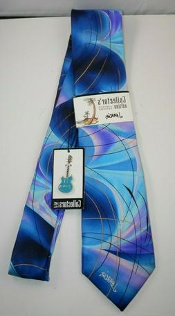 Jerry Garcia Collector's Edition Neck Tie with Lapel Pin - D