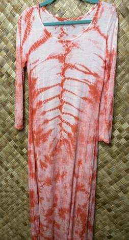 Romeo and Juliet Couture Medium Long Sleeve Pink & White Tie
