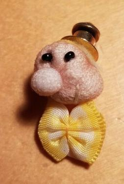 Vintage Funny Face Tie Tack/Lapel Pin  Hand Made
